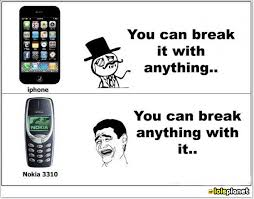 Funny Nokia Memes - iphone versus nokia melolz just for fun funny memes jokes