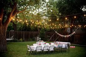 cheap outdoor string lighting for parties ideas antiquesl com