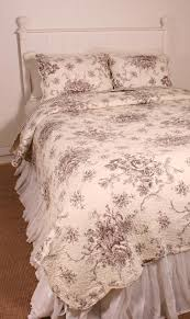 fresh blue french toile bedding sets 14379