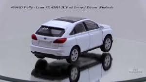 lexus rx new model 43641d welly lexus rx 450h suv w sunroof diecast wholesale youtube