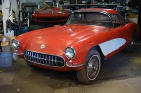 solid axle corvette 1956 chevrolet corvette convertible project car solid axle c1