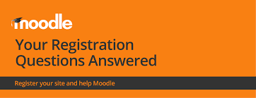 your registration questions answered moodle com