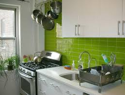 kitchen backsplash green kitchen design fanabis