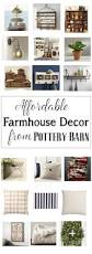 home decor bargains affordable farmhouse decor from pottery barn