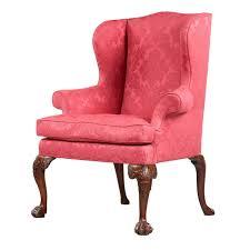 furniture home blazer shelter high back wingback chair design