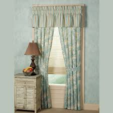 natural shells tailored curtains