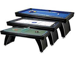 4 In 1 Game Table Multi Game Tables Combination Games Combo Games Air Hockey