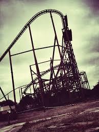 abandoned amusement park abandoned theme park in england called camelot tunnel