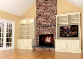 Lcd Tv Wall Mount Cabinet Design Living Room Fancy Cream Area Carpet Painted Wall Furniture