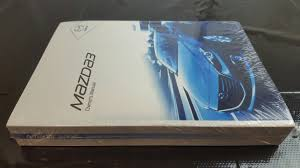 new genuine mazda 3 bm owners manual mazda3 2013 2016 8dz4 eo