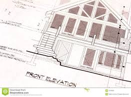 house plan blueprints house plans blueprints front royalty free stock photography