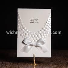 2017 unique design wedding invitation card cheap price cw5188