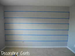 decorating cents painting a striped wall painting stripes on