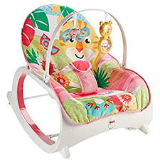 Infant Rocking Chair Fisher Price Rainforest Infant Toddler Rocker Pink Amazon Co Uk