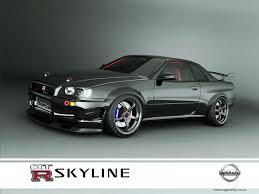 nissan r34 custom nissan skyline gtr r34 black by 3dmanipulasi on deviantart