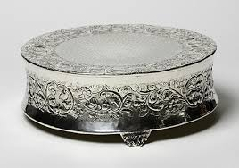 silver wedding cake stand wedding cake stands silver gallery wedding cake stand