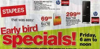 staples black friday ads black friday 2010 ads and deals exclusive techrena
