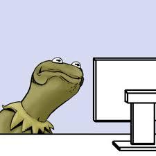 Computer Reaction Meme - best photos of kermit and cookie monster meme kermit the frog