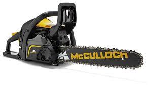 mcculloch cs410 elite petrol chainsaw amazon co uk diy u0026 tools