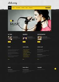 website template 45880 alisha mong personal custom website