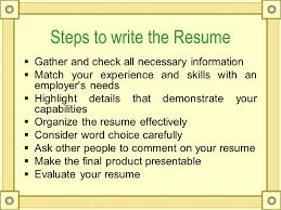 technical writing resume what is resume a resume is a brief