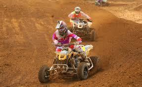 pro am motocross can am ds 450 pro joel hetrick earns atv mx podium miller brothers