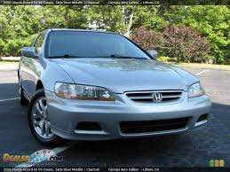 2002 silver honda accord 2002 honda accord ex v6 coupe front cargeek74 flickr