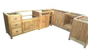 ikea meuble cuisine independant meuble cuisine independant bois meuble cuisine en bois brut facade