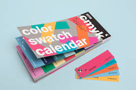 color swatch calendar 2016 on behance