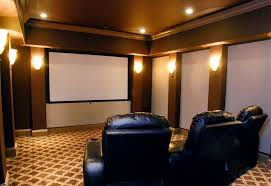 Media Rooms - custom home theater rooms simple home media room designs home