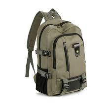 rucksack design new fashion design band vintage travel canvas leather backpack