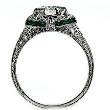 the blog at vintagediamondrings com art deco diamond rings in