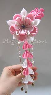 japanese hair ornaments kanzashi japanese hair accessory for myself and my bridesmaids