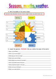 439 free esl weather worksheets