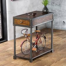 small rectangular end table stylish rectangular end tables iron wood rectangular end table