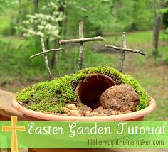 easter religious decorations easter garden tutorial easter centerpiece easter table decor