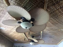Outdoor Ceiling Fans At Home Depot by Hampton Bay Havana 48 In Indoor Outdoor Natural Iron Ceiling Fan