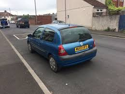 nissan skyline insurance group renault clio 2003 in stunning blue low insurance group great on