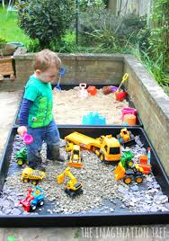 diy sand box and gravel pit gravel pit sand boxes and outdoor play