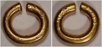 celtic ring money ring money ca 1100 600bc celtic celtic britain gold ring money ef