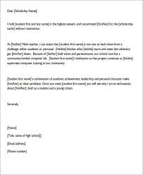 sample college reference letter 6 examples in pdf word