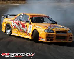 nissan gtr drift car drifting wallpaper skyline wallpapersafari