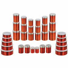 red kitchen canister set klassic vimal 34 pcs red full container set vm098 steel