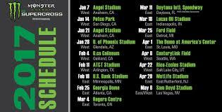 2013 ama motocross schedule mxptv u2013 2017 monster energy supercross schedule