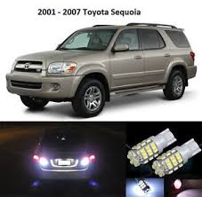 toyota sequoia backup premium led backup light bulbs for 2001 2007 toyota
