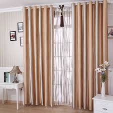 livingroom curtains classic chagne polyester blending materials living room