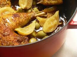 poulet aux citrons confits cuisine tajine de poulet aux citrons confits et aux olives pauline en