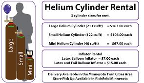 helium rental andon balloons helium rental