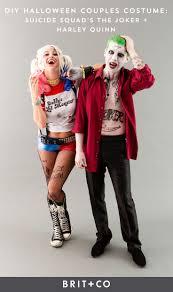 Halloween Joker Costume How To Rock Squad U0027s Joker Harley Quinn As A Couples