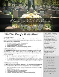 funeral planning guide funerals diocese of new ulm